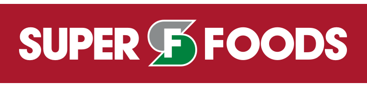 A logo of Super Foods Grocery